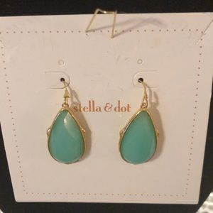 S&D Turquoise Serenity Drop Earrings In S&D Box
